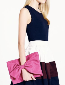 Kate Spade Bow Clutch