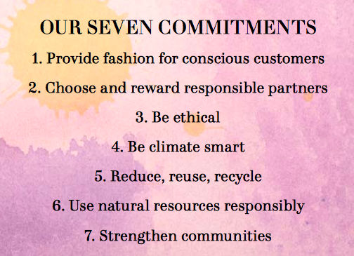 Seven Commitments