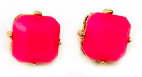 Since October is Breast Cancer Awareness Month, Trend Tribe is donating $5 for every sale of these hot pink studs.