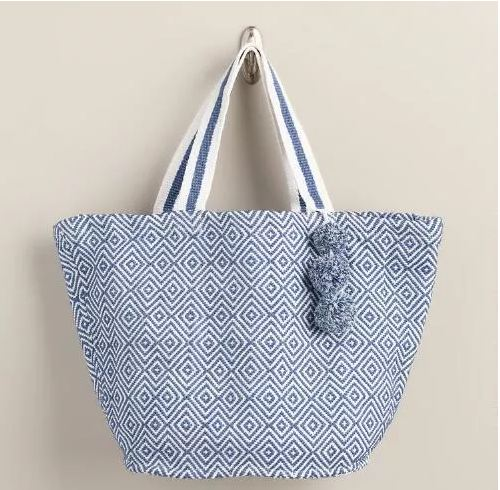 World Market Beach Tote