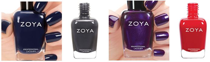 Zoya Fall Nails
