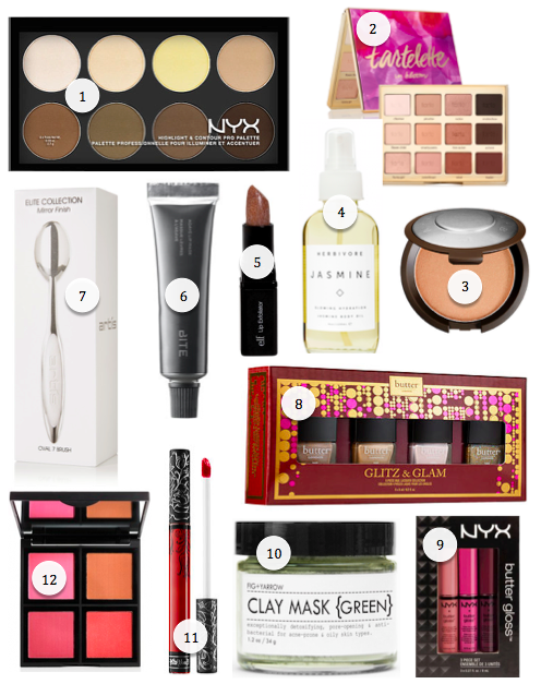 2015 makeup gift guide