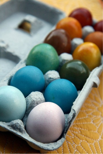 All Natural Easter Eggs